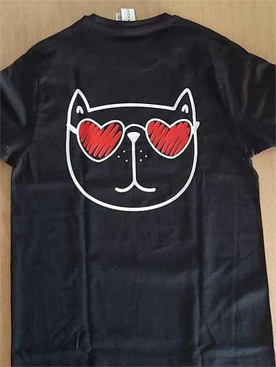 La rete di Emma - maglietta - gatto