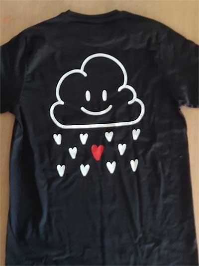 La rete di Emma - maglietta - nuvola